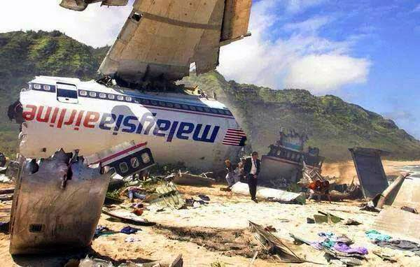 Pesawat MH17 ditembak jatuh di Ukraine