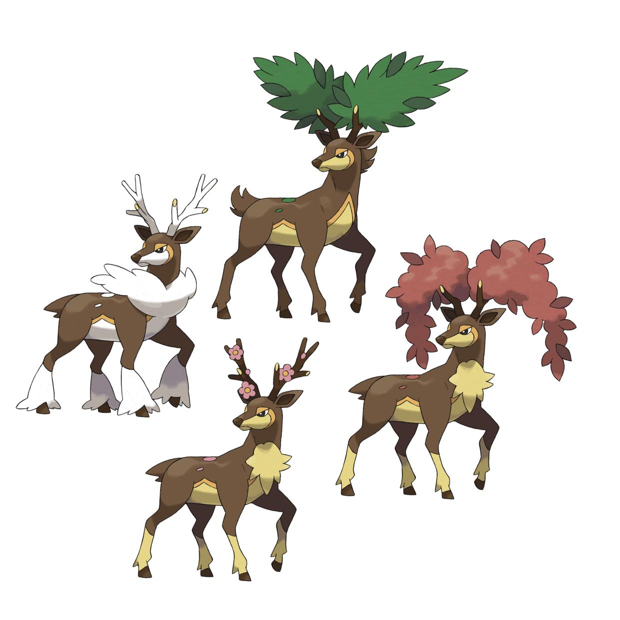 My Favorite Pokémon: #13: Sawsbuck