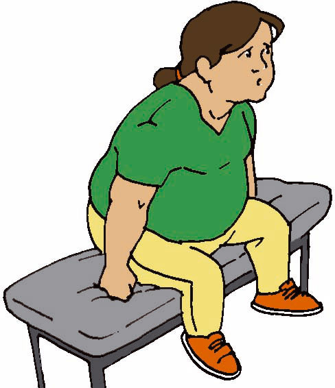 Obesidad dibujos animados - Imagui