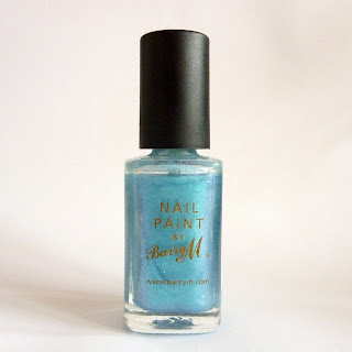 Barry M Nail Polish 287 Aqua Blue
