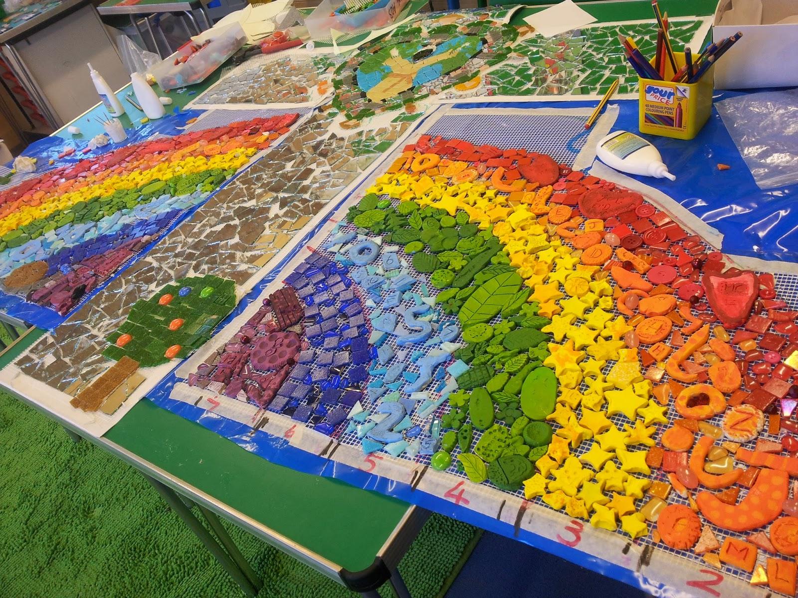 primary school mosaic,