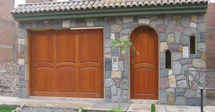 Fachadas casas con piedra fachadas de casas for Fachadas de casas con azulejo
