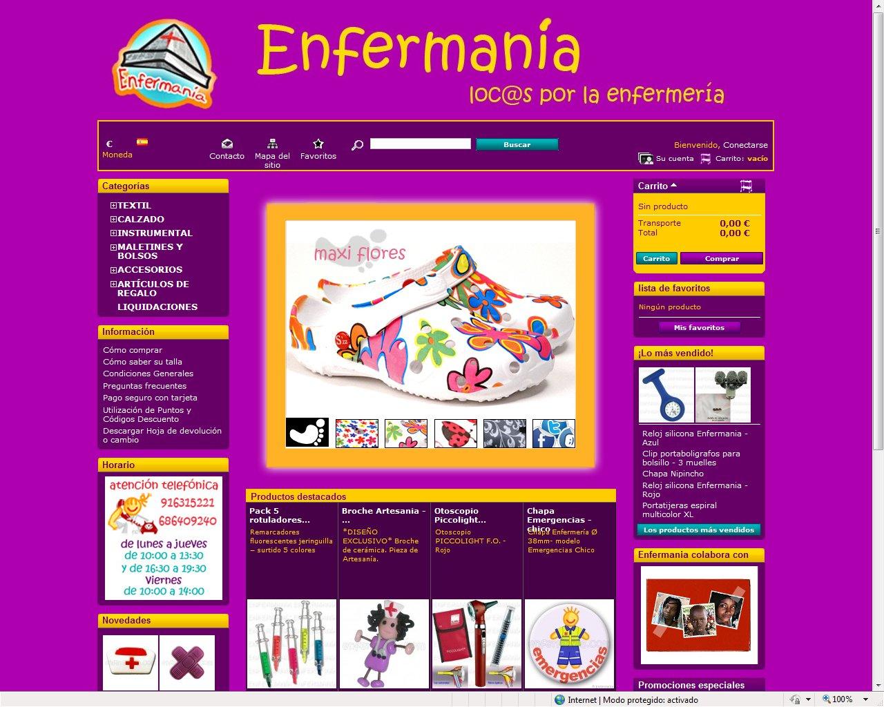 Enfermania  Un Portal Para Loc  De Enfermer  A
