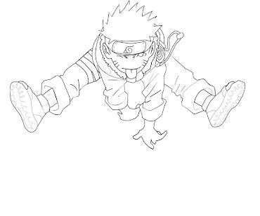 #7 Naruto Coloring Page