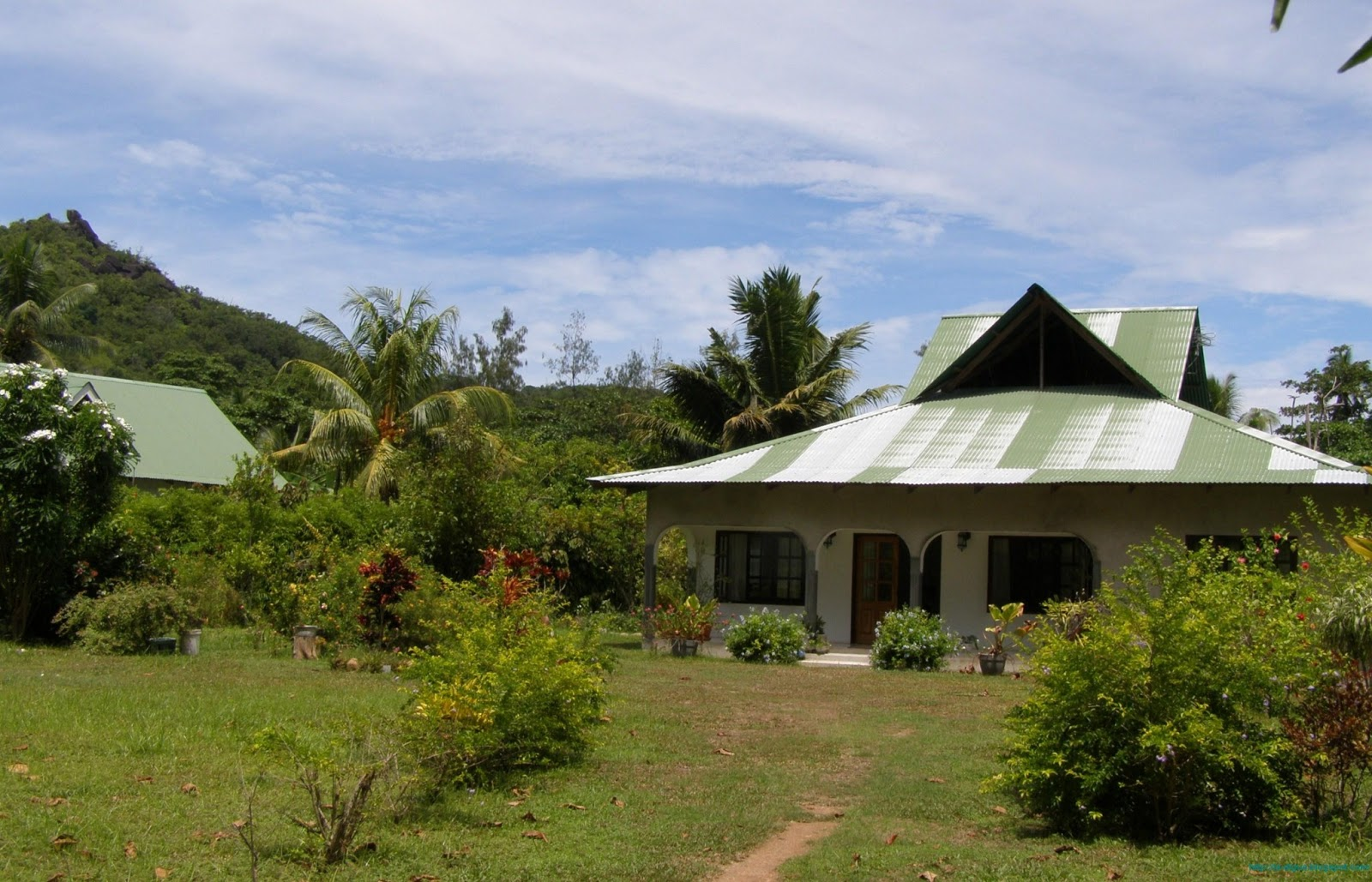 House at La Digue