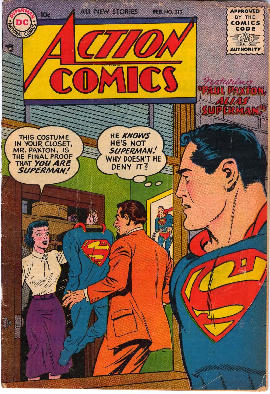 Action Comics (1938) 213 Page 1