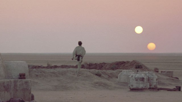 Planet Tatooine Star Wars
