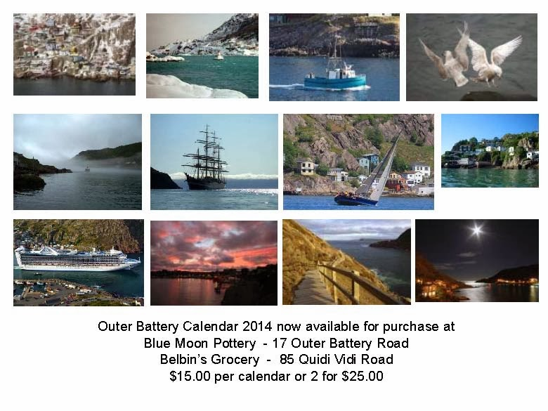 2014 Outer Battery Calendar now available. Limited edition!