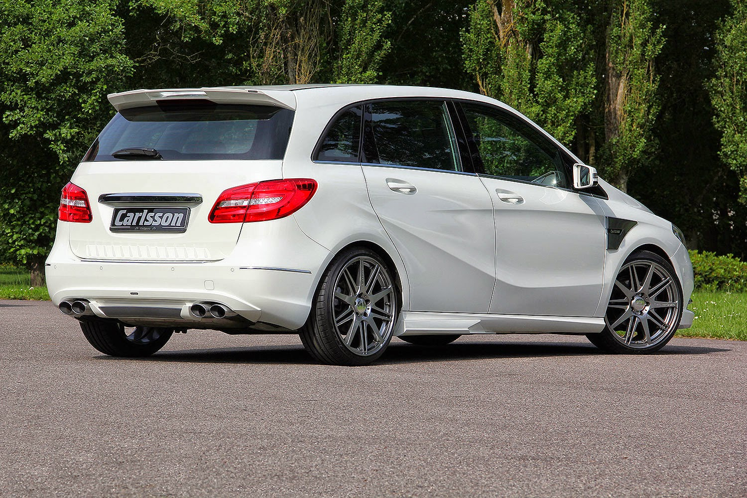 Mercedes benz b class w246 tuned by carlsson benztuning for Mercedes benz tuning