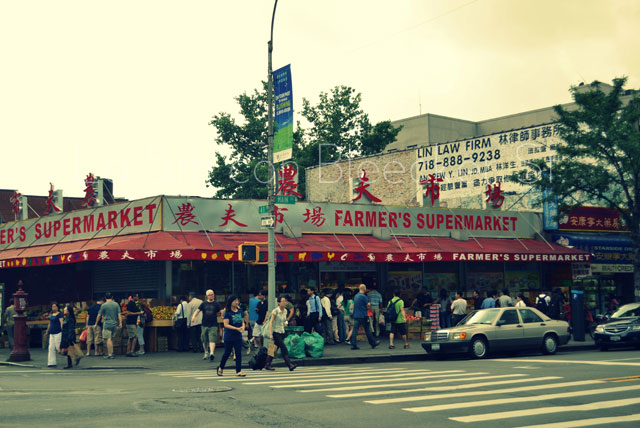 El barrio de Flushing en Queens