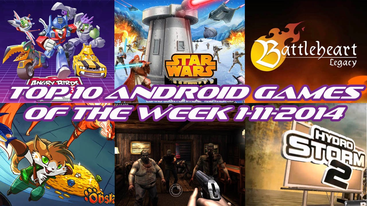 TOP 10 BEST NEW ANDROID GAMES OF THE WEEK - 1st November 2014