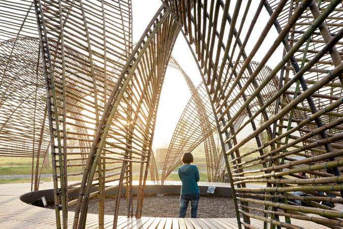 n architects, taiwan forest pavilion