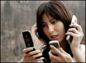 dependența de telefoane