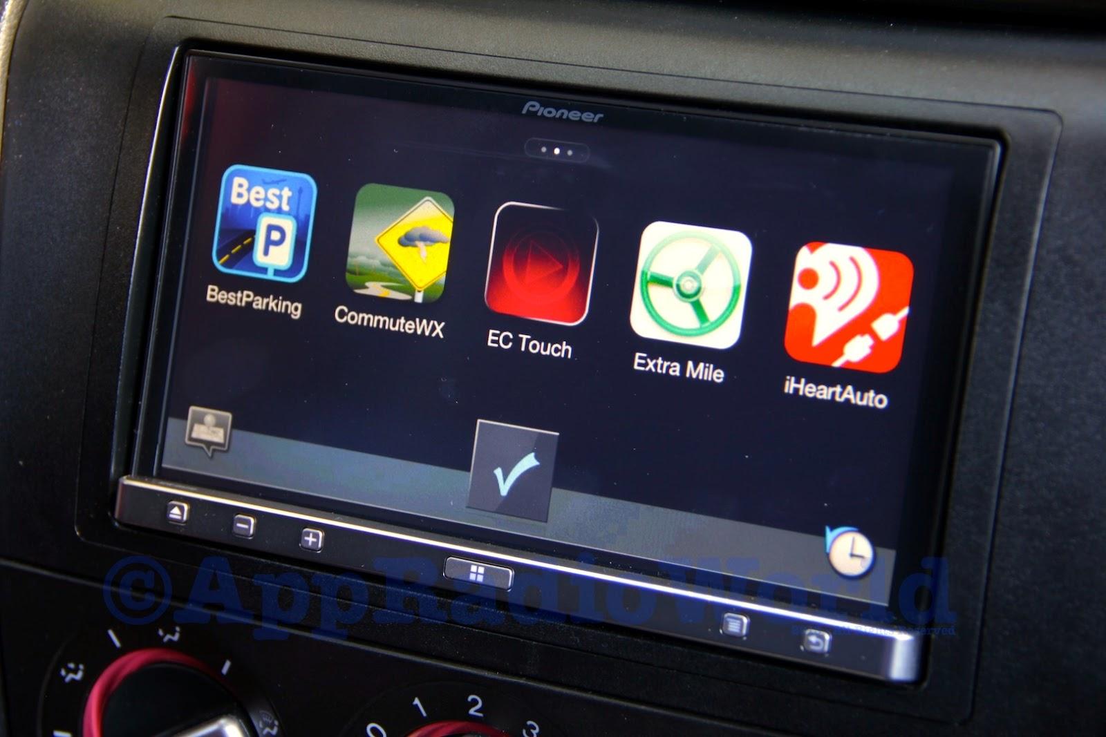 appradioworld apple carplay android auto car technology news pioneer appradio 3 sph da210. Black Bedroom Furniture Sets. Home Design Ideas