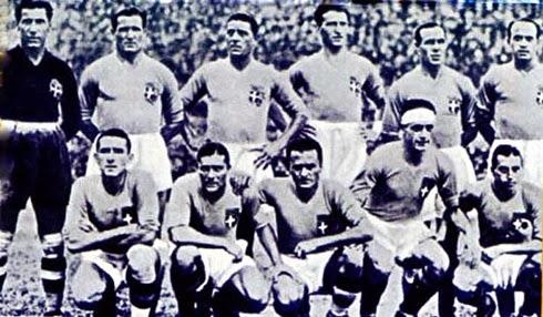 Seleção italiana campeã copa do mundo 1934