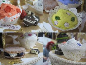 Fake cupcakes
