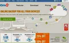 IDrive: otra opción para almacenar archivos en la nube, que ofrece 5 Gb. en forma gratuita