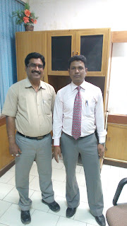Mr.Narender Sharma with Mr. Narayan Prasad