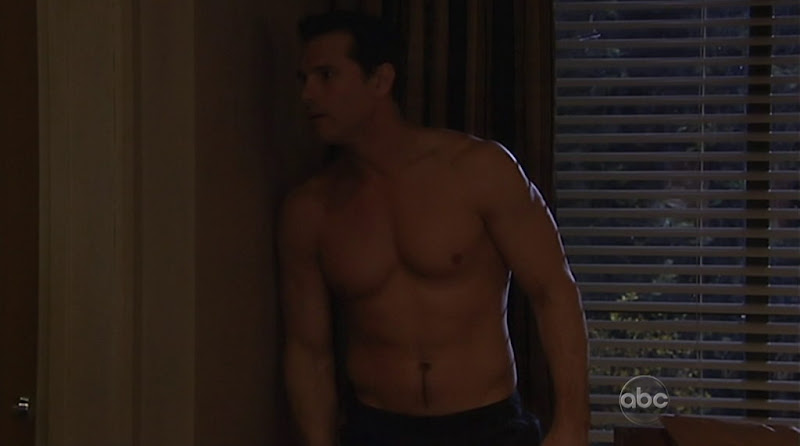 Austin Peck Shirtless on One Life To Live 20110518