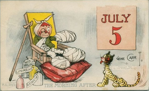 July 5th cartoon (public domain)