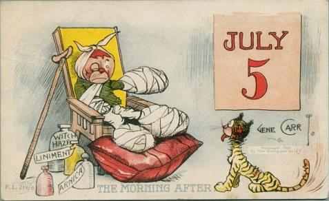 July 5th cartoon (public domain)