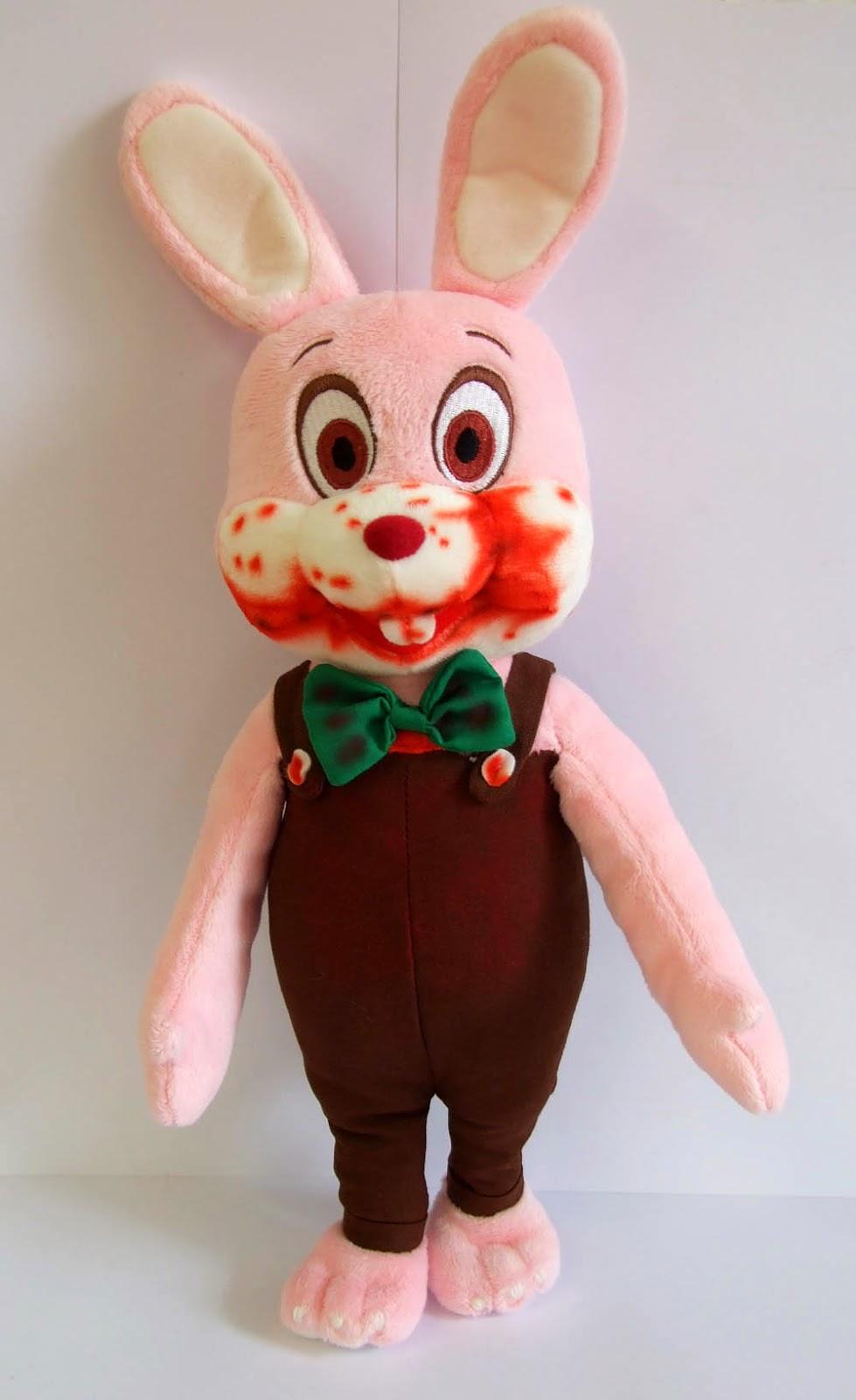 Conejo Peluche Robbie de Silent Hill