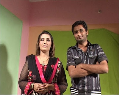 Humera Chana With Sindhi Model