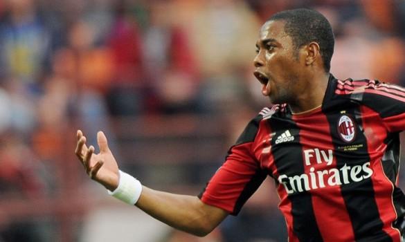 Robinho y el Milan