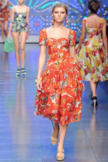 dolce gabbana3 - Dolce&Gabbana Ilkbahar 2012 | Milan Moda Haftas�