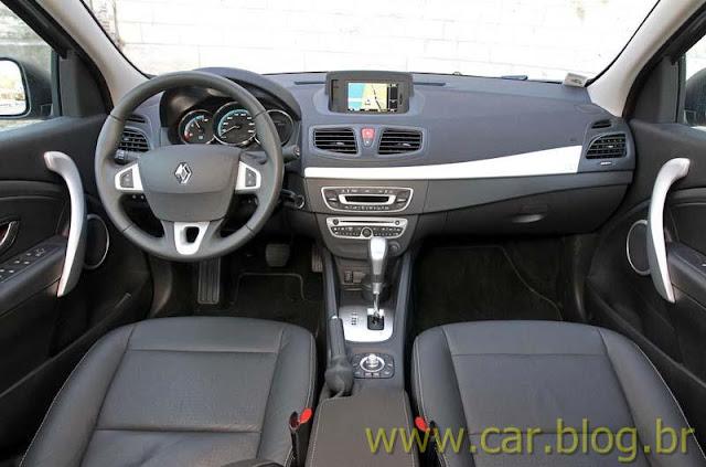 Renault Fluence 2012 Privilege - interior - painel