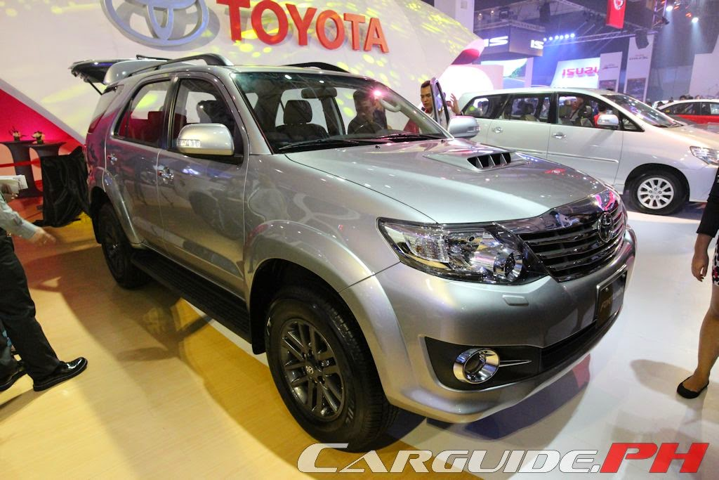 Car Models 2015 2015 Toyota Fortuner Philippines Specifications
