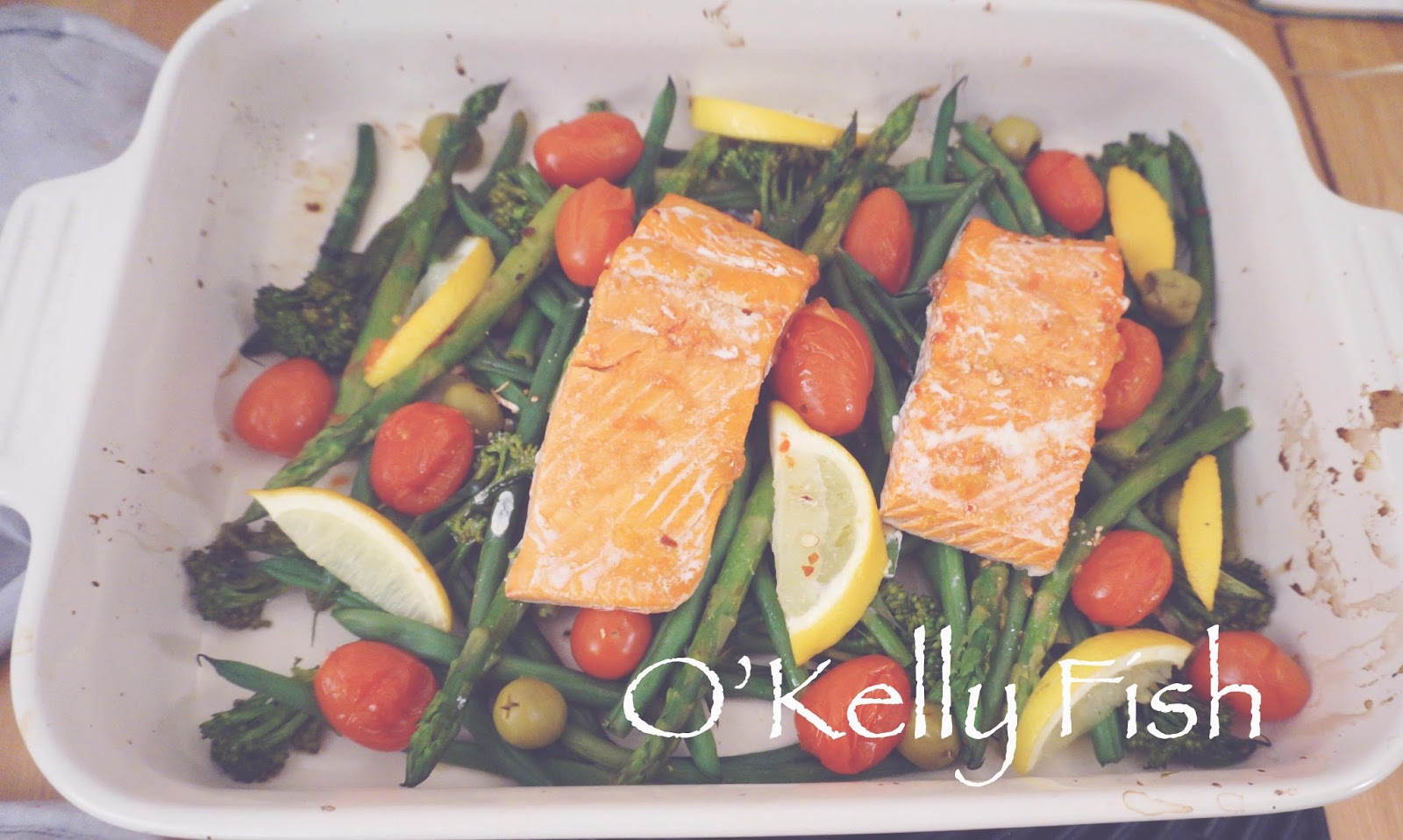 meg-made Fast Diet recipe: O'Kelly Fish