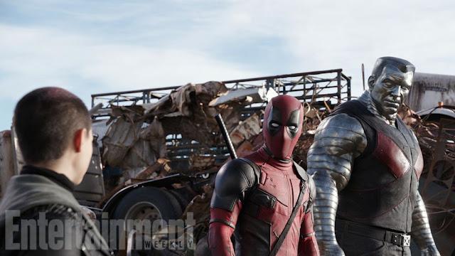 Primer anuncio de 'Deadpool' y primeras imágenes de Coloso