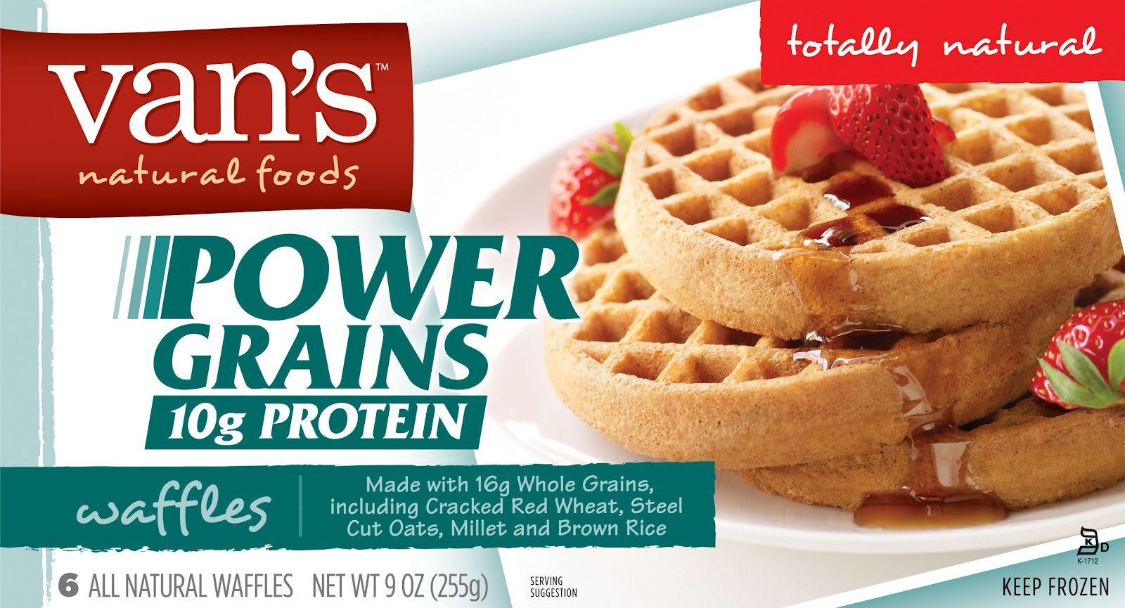 foods to start your day off right....Power Grains Protein Waffles ...