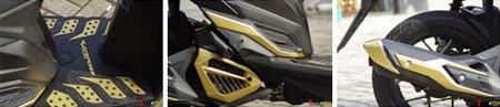 gambar motor New vario 150 & Aksesoris lengkap