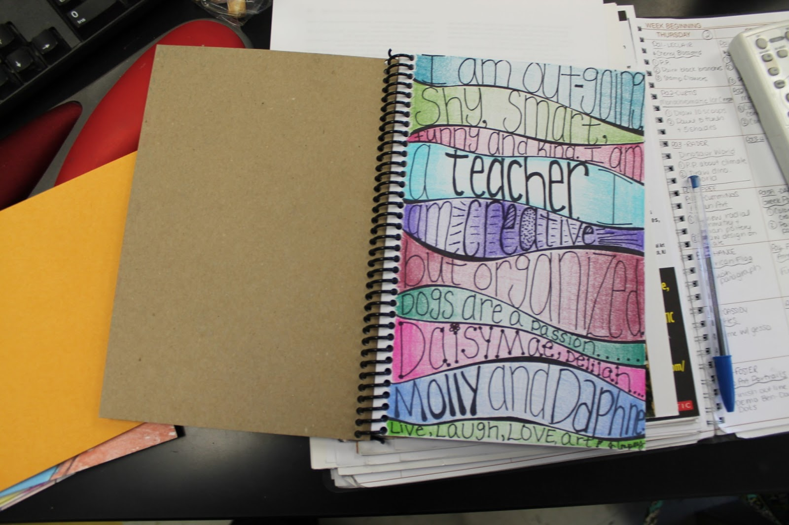 School Art Book Cover Ideas : Art room what s your view on sketchbooks in