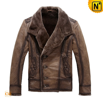 Comfy Sheepskin Jacket for Men