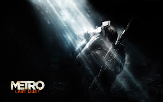Metro Last Light Character with Gas Mask HD Wallpaper