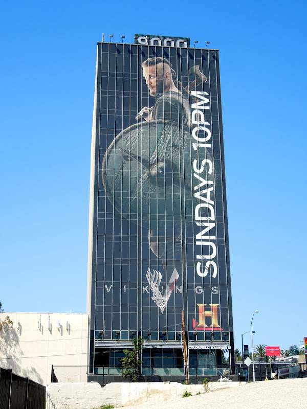Giant Vikings season 1 billboard