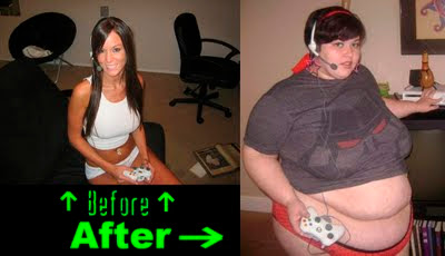 Extreme Video Game Addiction in Photos