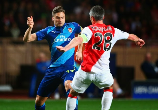Arsenal Gagal Lolos ke Perempat Final Liga Champion 2015