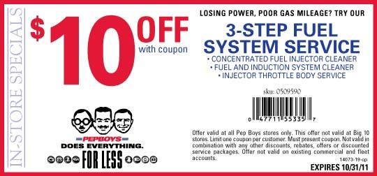 Pepboys coupon code