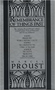 Reading Now - Remembrance of Things Past