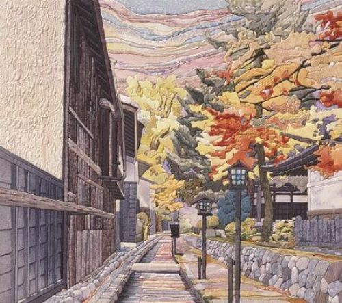 Kunisaiga, Japanese patchwork art