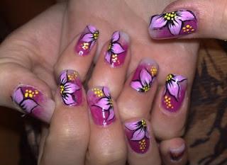 nokti slike cvetni motivi 10