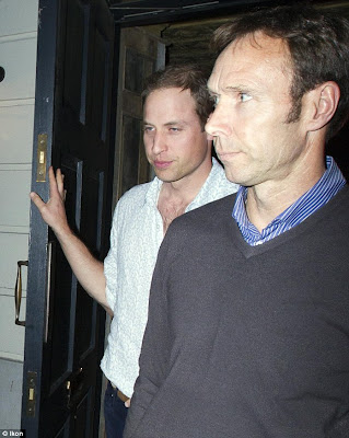 Prince William Enjoys Night Out [Photos]