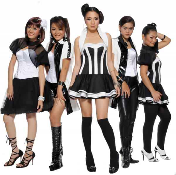 Biodata 5 Bidadari Girlband Indonesia kayaknya pendatang lama yang ...
