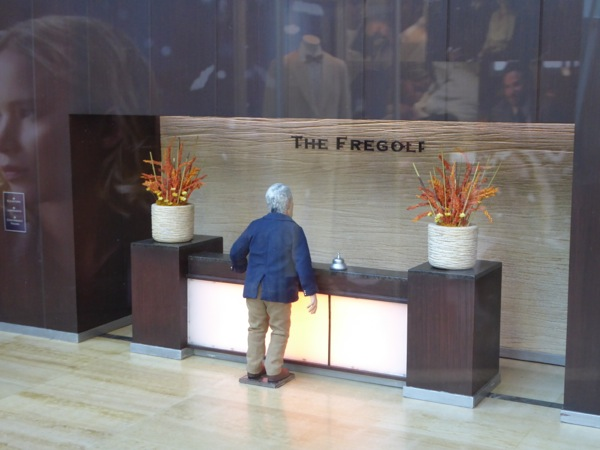 Fregoli stop-motion hotel reception set Anomalisa