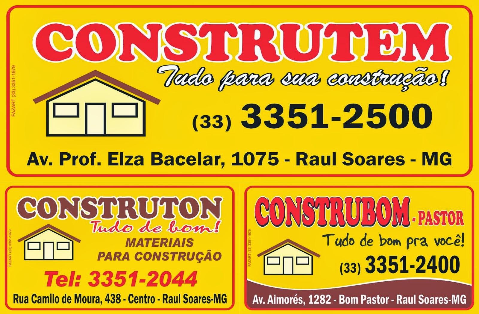 CONSTRUTEM, CONSTRUBOM PASTOR E CONSTRUTON - Clique no banner