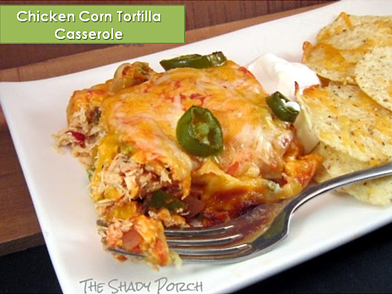 Chicken Corn Tortilla Casserole